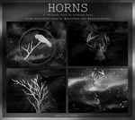 Horns Textures Pack by Starved-Soul by Starved-Soul