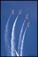 Thunderbirds Airfest 2012 IV by AirshowDave