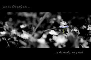 You are the only one... by Flairen