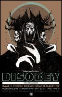 DISOBEY HDDM BAAL POSTER by BURZUM