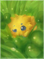 Joltik (re-draw) by Vanilliana