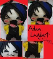Adam Plushie by RandomPanic