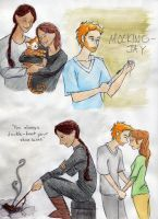Mockingjay artdump part 1 by timetofrolic