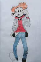 What do you think of my Spirou, Fantasio? by Mii-riam