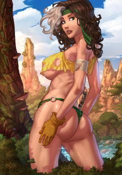 Savage Land - Rogue_Colors by vest