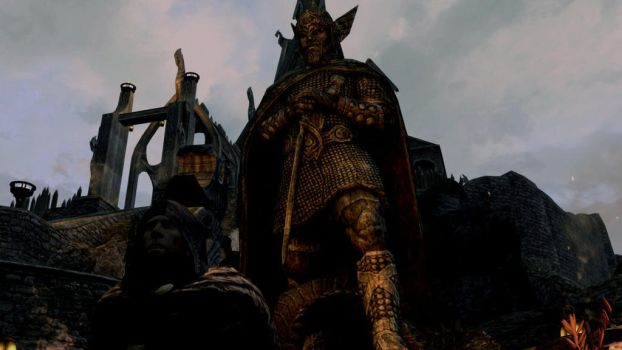 Aesthetic Heimskr and Talos by potatowup