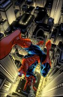 Spider-man City Swingin Cols by Creation-Matrix