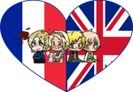 FACE Family Shimeji Heart by LadyAxis