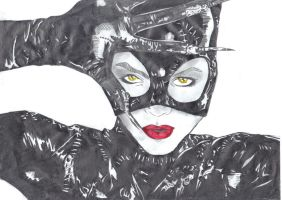 Batman Returns-Catwoman by Comicbookguy54321