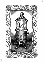 Goblin Tarot - The Lantern by vulpinoid