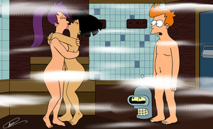 Getting Even With Fry by Spider-Matt