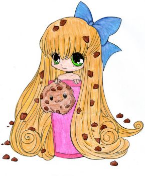 Cookie Chibi Colored by Athenas88
