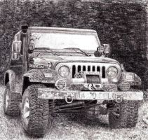 Jeep Wrangler by Diego0101