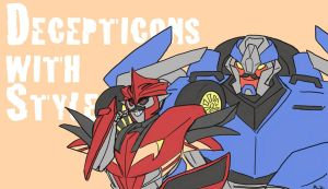 Decepticons with Style by DarkLordZafiel