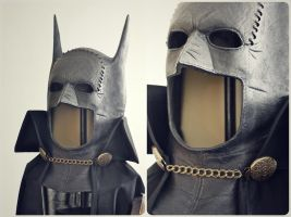 Gotham By Gaslight Cowl and Capelet Detail by chaoss3