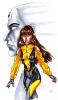 The Silk Spectre and the Doc by Magzdilla