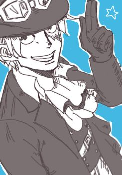 Sabo Practice by LadyDeadPooly