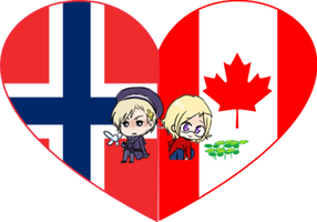 NorCan Shimeji Heart by LadyAxis
