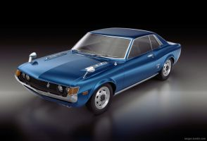 Toyota Celica GT 1967 front by sergoc58