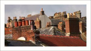 Chimney Pots by Foxfires