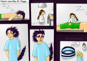 Hojo's Case Files 1-Puppy by Phoneix-Faerie