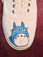 totoro shoes by Animestar22