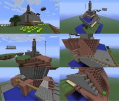 Whomp's Fortress (Minecraft) by JRDN762