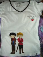 Merthur-shirt by Ta-moe
