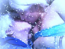 Jack and Elsa Kiss by Sigynpotter