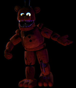 Withered Freddy V1 Complete! by TickTockGJ