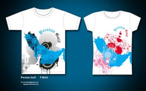Persian Gulf T-shirt by fgnight