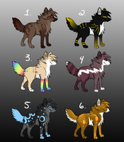 Point Adoptables 2 by Rianach
