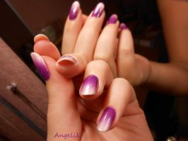 Purple gradient by Angelik23