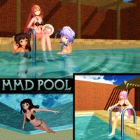 MMD Swimming Pool by Trackdancer