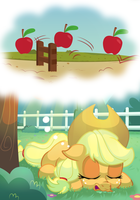 She can count to apples by thediscorded