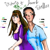Victoria and Jacob Steller by pookalook