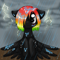 In the Rain by DragonGirl983