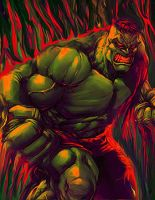 Hulk Tablet Smudge by TonyApex