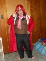 Grell Sutcliff cosplay WIP 3 by L-luvs-cake