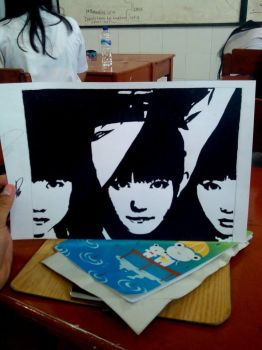 Babymetal drawing by Raih4n