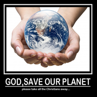 God Save Our Planet by Sc1r0n