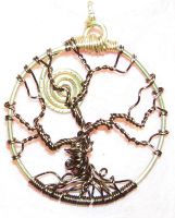 Tree of Life Pendant by SabraLee