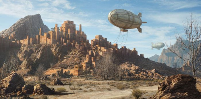 Desert Town by dylancole