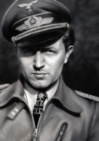 Walter Oesau by Luftwaffles