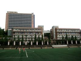 Kookmin University Main Campus Seoul by toyonda