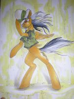 Commission- Daring Do by Tzelly-El