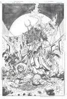 Telara Chronicles 3 Pencils by DrewEdwardJohnson