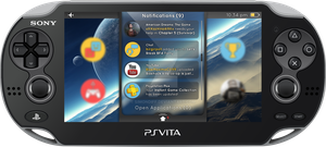Vita UI - Screen 3 by SimonDiff