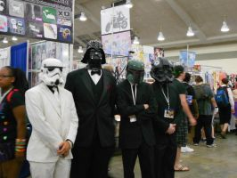 Otakon 2012 - Star Wars Classy Tuxedo Men by Angel1224