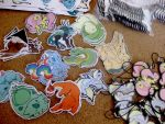 Drowning in Stickers! by Art-Stew-Frou-Frou